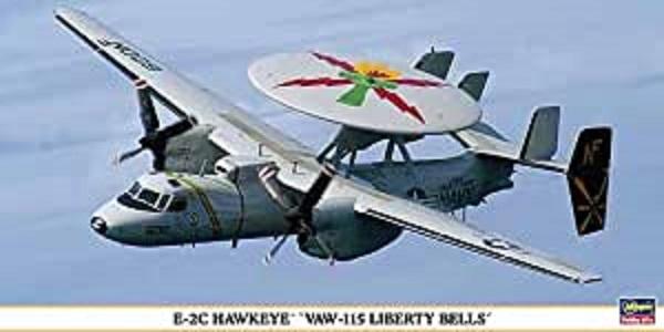 """Hasegawa 1/72 E-2C Hawkeye """"VAW-115 Liberty Bells"""" 組裝模型 Hasegawa 1/72 E-2C Hawkeye """"VAW-115 Liberty Bells"""" 組裝模型"""