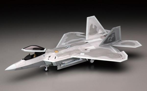 HASEGAWA / 1/48 / F-22猛禽式戰鬥機 組裝模型 HASEGAWA,1/48,F-22,猛禽式