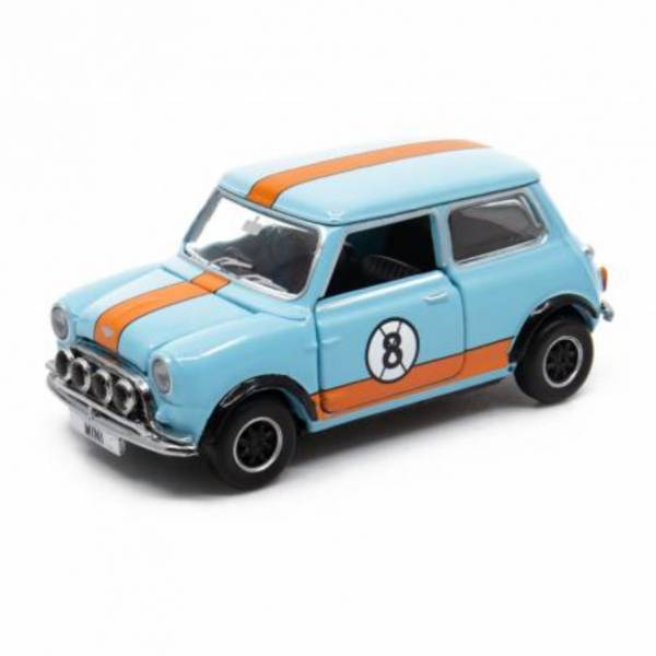 TINY Mini Cooper Racing #8 合金完成品 TINY,Mini Cooper Racing #8
