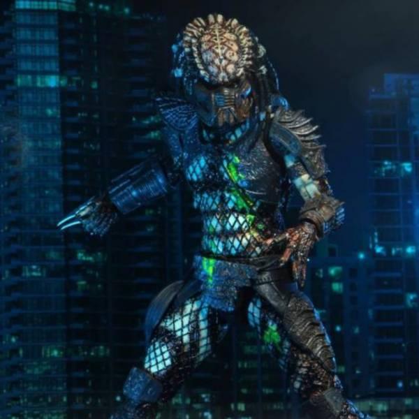 NECA 終極戰士2 Ultimate Battle Damaged City Hunter 8吋可動公仔 NECA,終極戰士2,Ultimate,Battle,Damaged,City,Hunter,8吋,可動公仔,