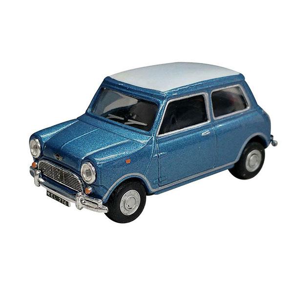 Cararama / 1/43 / Mini Cooper 藍色 合金完成品 Cararama,1/43,Mini Cooper,藍色