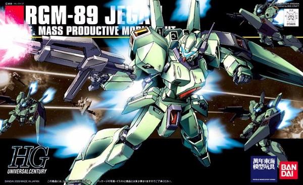 HGUC 1/144 #097 RGB-89 傑鋼 量產型 JEGAN 逆襲的夏亞
