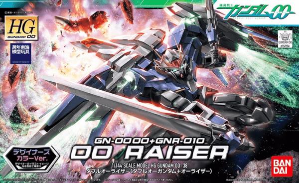 HG00 1/144 #38 鋼彈OO 00 RAISER 00R 設計師配色版 鋼彈,HG 00,1/144,