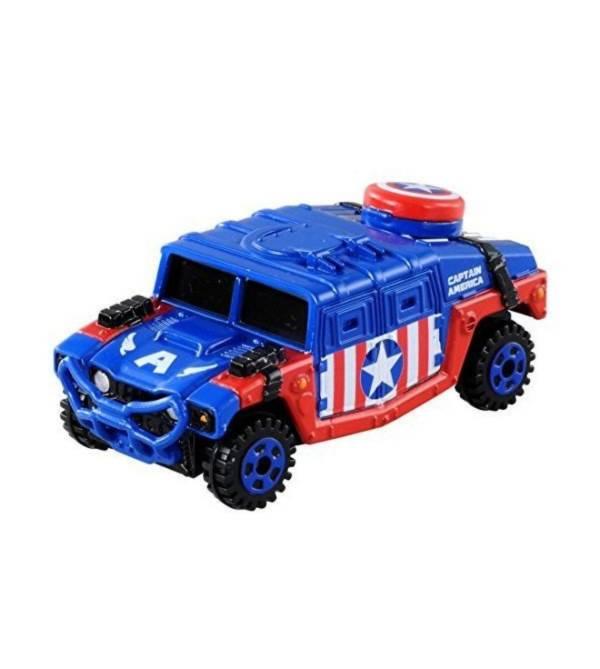 TOMICA 多美小汽車 #144 CAPTAIN.CRUISER 美國隊長 漫威MARVEL 已塗裝玩具車 TOMICA,多美小汽車,#144,CAPTAIN.CRUISER,美國隊長,漫威MARVEL,已塗裝玩具車