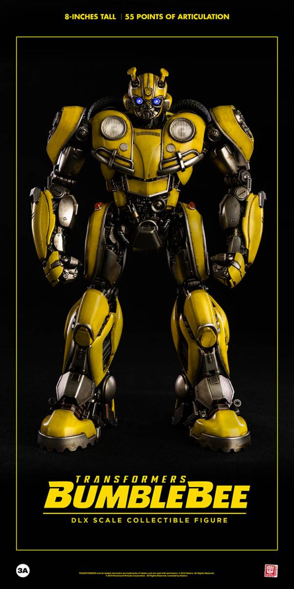 Threezero DLX 變形金剛 大黃蜂Bumblebee 可動公仔 Threezero,DLX,變形金剛,大黃蜂,大Bumblebee