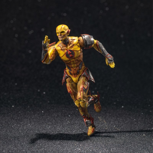 Hiya Toys / 1/18 / DC / 超級英雄:武力對決 不義聯盟2 / 逆閃電 Reverse Flash  可動人偶 Hiya Toys,1/18,超級英雄:武力對決,不義聯盟2,逆閃電,Reverse Flash