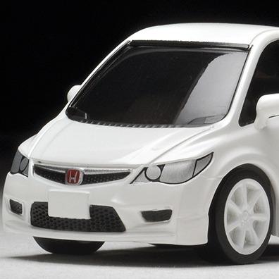 TOMYTEC / Q ZERO 迴力賽車 / Z-63b / 本田 HONDA Civic Type R(FD2) 白 TOMYTEC,Q ZERO,迴力賽車,Z-63b,本田,HONDA Civic Type R(FD2) 白