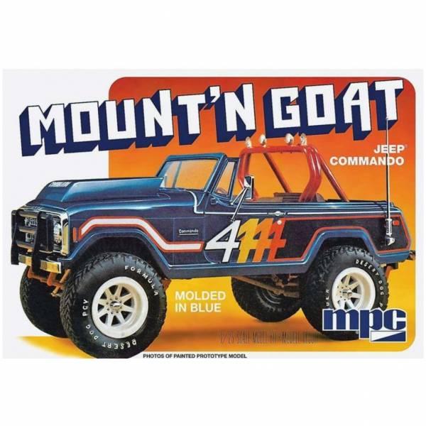 MPC 1/25 吉普車 Jeep Commando Mount`n Goat 組裝模型 MPC,吉普車,Jeep Commando Mount`n Goat,組裝模型