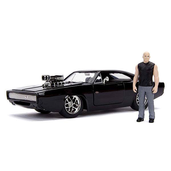 JADA / 1/24 / 玩命關頭 / Dodge Charger 含唐老大人偶 合金車 JADA,1/24,玩命關頭,Dodge Charger,唐老大,合金車