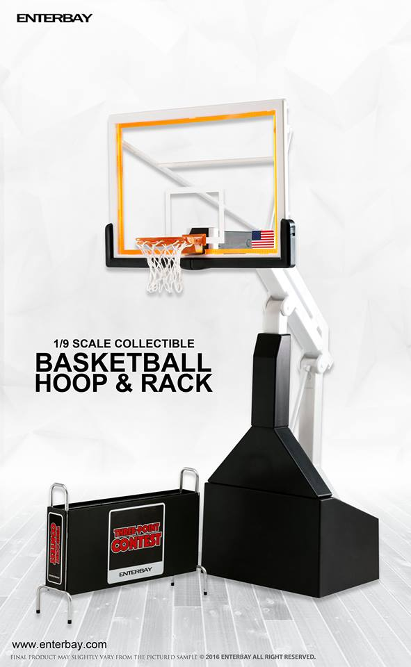 ENTERBAY / 1/9 / 籃球架 Basketball Hoop / OR-1004 ENTERBAY,1/9,籃球架,Basketball Hoop,OR-1004