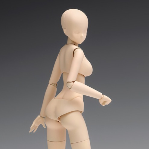WAVE / 1/12 / 可動素體 女性體 標準版 組裝模型 WAVE,1/12,可動素體,女性素體,組裝模型