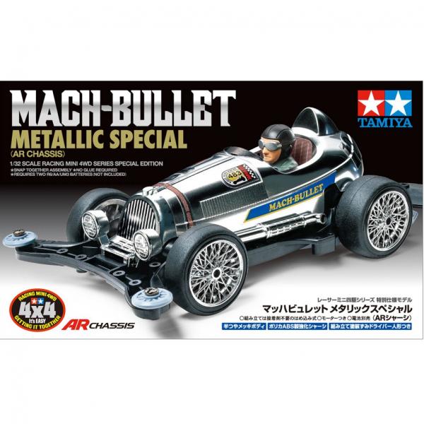 TAMIYA 田宮 1/32 #95483 Mach-Bullet 金屬色限定版 Metallic Special AR底盤 TAMIYA, 田宮,1/32,95483, Mach-Bullet, 金屬色限定版, Metallic Special, AR底盤