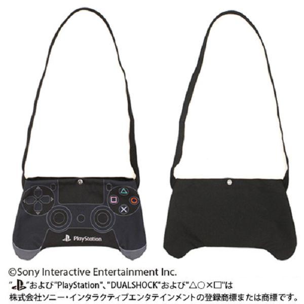 COSPA / Sony PlayStation PS / 輕便側背包 / 斜背包 / 黑色 COSPA,Sony PlayStation,PS,輕便側背包,斜背包,黑色