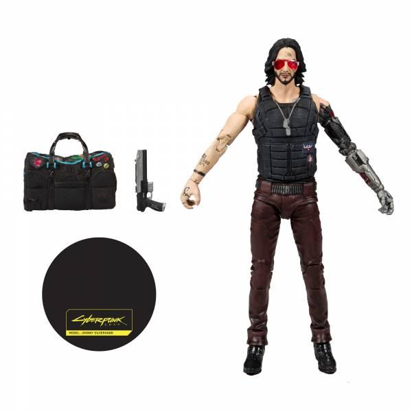 McFarlane Toys 麥法蘭 7吋 電馭叛客2077 Johnny 基努李維 可動公仔 特別版 Keanu Reeves  McFarlane Toys,麥法蘭,7吋,電馭叛客2077,Johnny,特別版