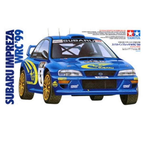 TAMIYA 田宮 1/24 #24218 Subaru 速霸陸 Impreza WRC '99 TAMIYA, 田宮, 1/24, 24218, Subaru,速霸陸,Impreza, WRC, '99