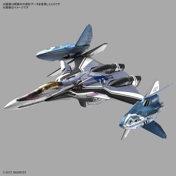 BANDAI 1/72  超時空要塞Delta VF-31F 疾風·因梅爾曼 座機 組裝模型  BANDAI 1/72  超時空要塞Delta VF-31F 疾風·因梅爾曼 座機 組裝模型