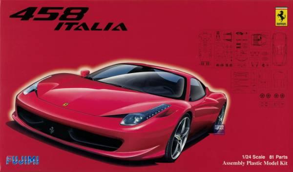 1/24 法拉利 ITALIA 458 FUJIMI RS81 富士美 組裝模型 FUJIMI,1/24,RS,法拉利,ITALIA,458,組裝模型