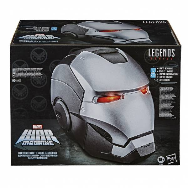 Hasbro 孩之寶 漫威傳奇系列 戰爭機器 1:1比例可穿戴電子頭盔   Hasbro,孩之寶,漫威傳奇系列,戰爭機器,1:1,比例,可穿戴,電子頭盔,