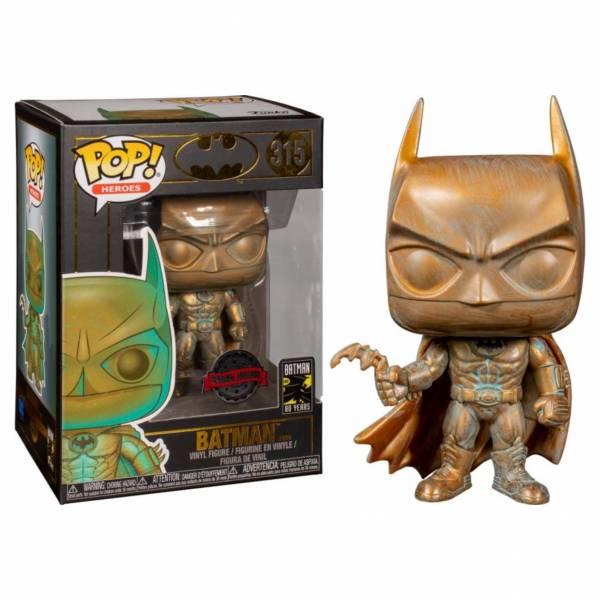 FUNKO POP HEROES 蝙蝠俠80周年 蝙蝠俠1989 青銅色  FUNKO,POP HEROES,蝙蝠俠80周年,蝙蝠俠1989,青銅色