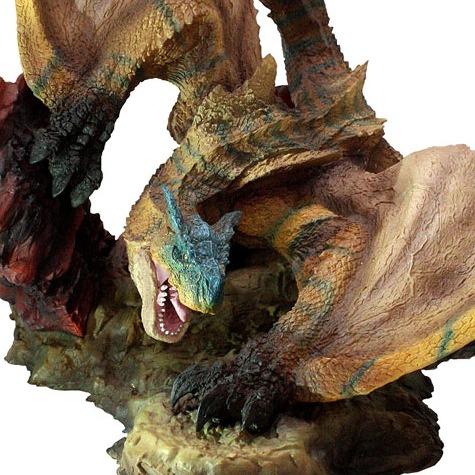 [再販] CAPCOM / 魔物獵人 / 魔物雕像 / 轟龍 / 完成品 CAPCOM,魔物獵人,魔物雕像,轟龍