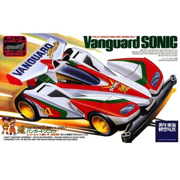 [缺貨再到] TAMIYA 田宮 1/32 #19407 Vanguard Sonic 烈2代 先驅音速 TAMIYA, 田宮,1/32,19407,Vanguard Sonic,烈2代,先驅音速