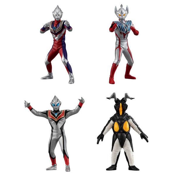 BANDAI / 扭蛋 / HG超人力霸王第一彈 / 全4種 一中盒12入販售 BANDAI,扭蛋,轉蛋,超人力霸王,HG