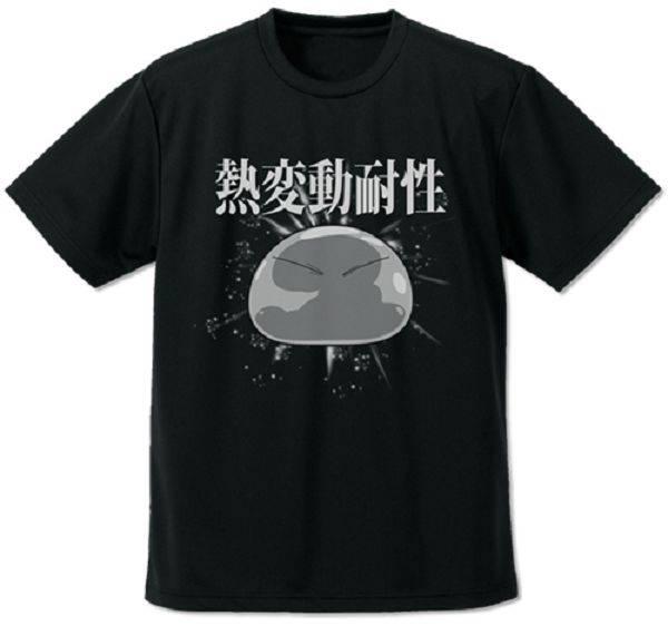 COSPA / 關於我轉生變成史萊姆這檔事 / 利姆路 熱變動耐性 / 吸水快乾抗UV 短袖T恤 黑色 COSPA,關於我轉生變成史萊姆這檔事,利姆路,熱變動耐性,吸水快乾抗UV,短袖T恤