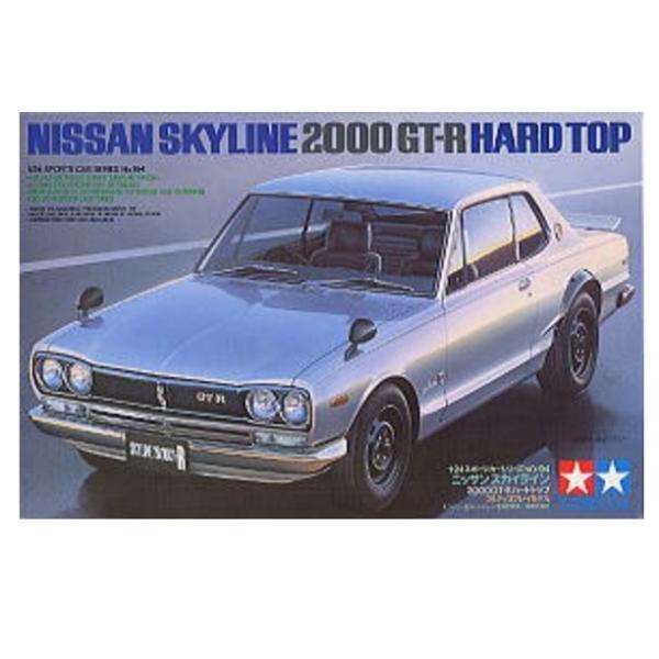 TAMIYA 田宮 1/24 #24194 Nissan Skyline 2000 GT-R Hard Top 田宮 TAMIYA , 組裝模型,24194, Nissan, Skyline, 2000 GT-R