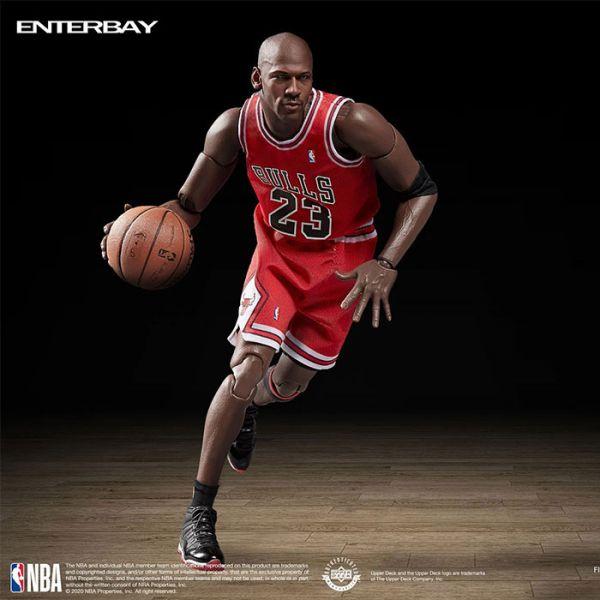 ENTERBAY 1/9 NBA 芝加哥公牛隊 麥可喬丹 Chicago Bulls Michael Jordan 2次三連霸Ver.MM-1207 ENTERBAY,1/9,NBA,芝加哥公牛隊,麥可喬丹,Chicago Bulls Michael Jordan,MM-1207