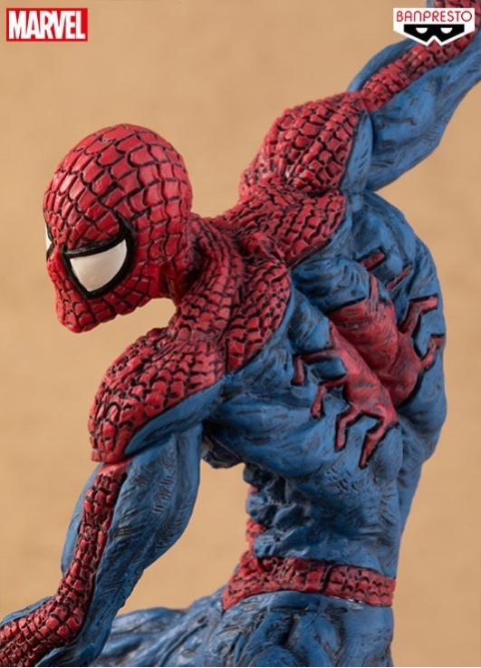 BANPRESTO / 景品 / 漫威 MARVEL 超人技畫 / 蜘蛛人 SPIDER-MAN 14cm BANPRESTO,景品,漫威,MARVEL,超人技畫,蜘蛛人,SPIDER-MAN