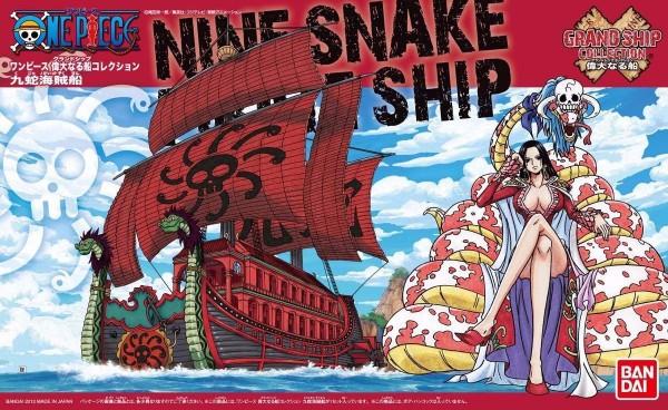 [7月再販] BANDAI 海賊王 GRAND SHIP COLLECTION  06 亞馬遜百合 九蛇海賊團 海賊王,九蛇,女帝,海賊船
