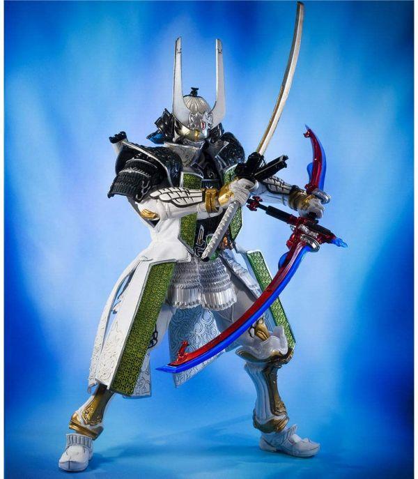 BANDAI S.I.C 假面騎士斬月‧真 蜜瓜能量鎧甲 已塗裝可動完成品 BANDAI S.I.C 假面騎士斬月‧真 蜜瓜能量鎧甲 已塗裝可動完成品