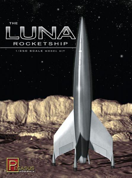 Pegasus 1/350 Luna火箭 PH9110 組裝模型 Pegasus,1/350,Luna火箭,PH9110