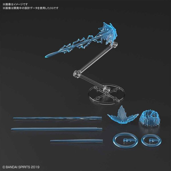BANDAI 30MM 改裝用 特效套組 射擊效果 藍色 BANDAI,30MM 改裝用,特效套組,射擊效果,藍色