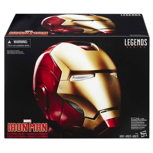 [聲光效果] Hasbro / 孩之寶 / 1/1 / 漫威 Marvel Legends / 鋼鐵人聲光頭盔 Iron Man Electronic Helmet Hasbro,孩之寶,漫威,Marvel Legends / 鋼鐵人頭盔 Iron Man,Electronic Helmet