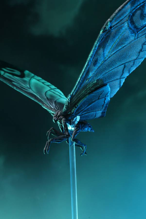 NECA 哥吉拉II 怪獸之王 哥吉拉2019 摩斯拉 電影海報配色Ver. Mothra Poster Version 12吋可動公仔 NECAㄝ,哥吉拉II 怪獸之王,哥吉拉2019,摩斯拉,電影海報配色Ver.