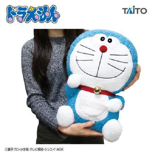 TAITO 景品 哆啦A夢 特大閃亮絨毛 TAITO,景品,哆啦A夢玩偶