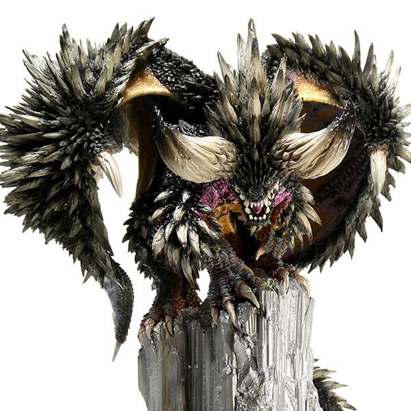 CAPCOM 魔物獵人 魔物雕像 滅盡龍 完成品 CAPCOM,魔物獵人,魔物雕像,滅盡龍