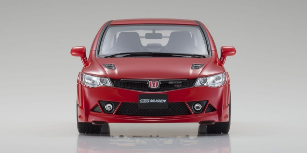 KYOSHO 京商 / 1/18 / 本田 Honda SAMURAI Civic Mugen RR (Red) KYOSHO,京商,1/18,本田,Honda SAMURAI Civic Mugen RR,Red