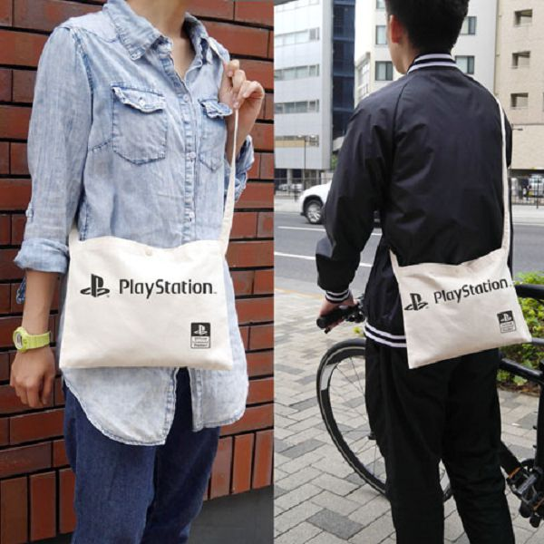 COSPA Sony PlayStation PS / 輕便側背袋 斜背袋 NATURAL COSPA,Sony PlayStation,PS,輕便側背袋,斜背袋,NATURAL