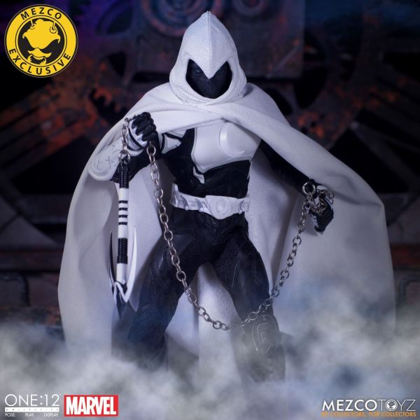 MEZCO TOYZ / 1/12 / One:12 Collective / 漫威MARVEL / 月光騎士 新月版 Moon Knight Crescent Edition MEZCO TOYZ,1/12,漫威,MARVEL,One:12 Collective,月光騎士,新月版,Moon Knight Crescent Edition