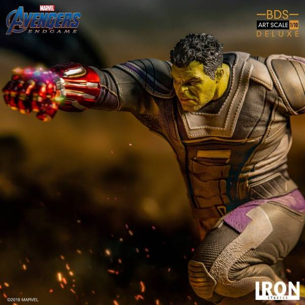 Iron Studios / 1/10 / 漫威 / 復仇者聯盟 : 終局之戰 / 浩克 無限手套豪華版雕像 Iron Studios,1/10,漫威,復仇者聯盟 : 終局之戰,浩克,豪華版