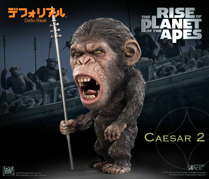 Star Ace Toys Defo-Real 猩球崛起 凱撒 長矛Ver. 豪華版 標準版 Rise of the Planet of the Apes Caesar   Star Ace Toys,Defo-Real,猩球崛起,凱撒,Rise of the Planet of the Apes Caesar,長矛