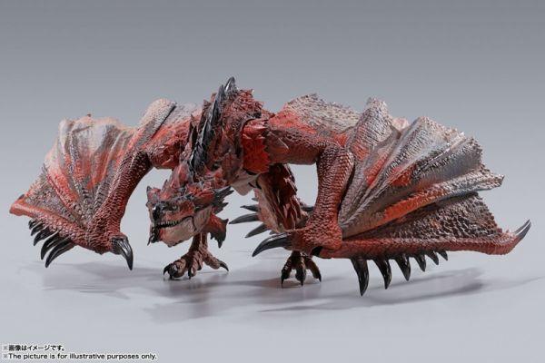 BANDAI S.H.MonsterArts SHM 魔物獵人 雄火龍 利奧雷烏斯 可動公仔 BANDAI,S.H.MonsterArts,SHM,魔物獵人,雄火龍,利奧雷烏斯