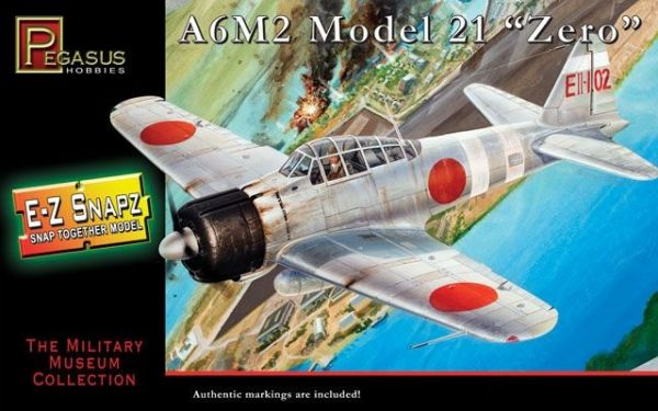 Pegasus 1/48 WW.II 日本海軍 零式艦上戰鬥機21型 三菱A6M2 PH8409 組裝模型 Pegasus,1/48,WW.II,日本海軍,零式艦上戰鬥機,21型,三菱A6M2,PH8409,組裝模型,