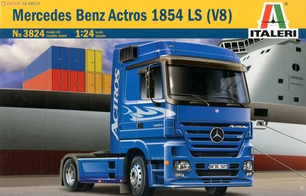 ITALERI 義大利模型 1/24 NO.3824 Mercedes-Benz Actros 1854 LS (V8) 組裝模型 ITALERI,義大利模型,1/24,NO.3824,Mercedes-Benz Actros 1854 LS (V8),組裝模型