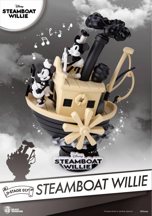 夢精選 DS-017 / 迪士尼 / 米奇 米老鼠 / 汽船威利號1928 Steamboat Willie 夢精選,DS-017,迪士尼,米奇,米老鼠,汽船威利號1928,Steamboat Willie