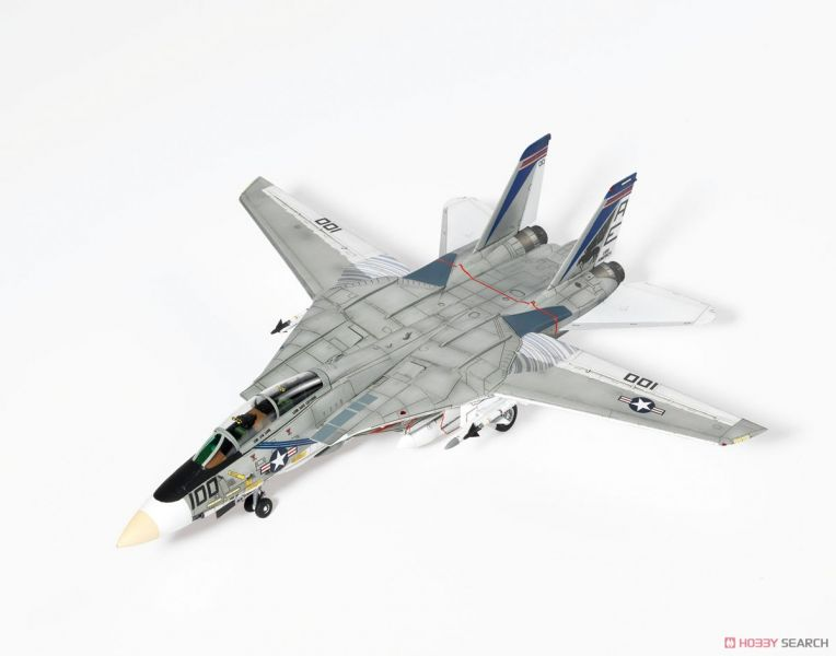 童友社 1/72 美國海軍 F-14A Tomcat VF-143 Pukin Dogs 組裝模型 DOYUSHA,童友社,1/72,美國海軍,F-14A,Tomcat,VF-143,Pukin Dogs,組裝模型