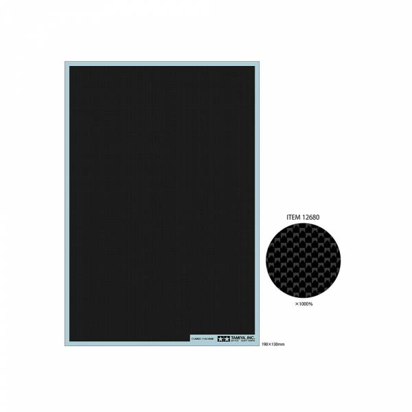 TAMIYA 田宮 #12680 Carbon Pattern Decal 碳纖水貼 平織 極細 Plain weave TAMIYA, 田宮,12680, Carbon Pattern Decal, 碳纖水貼,平織,極細