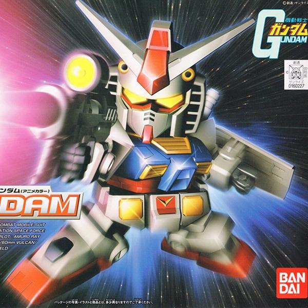 BANDAI BB戰士 BB 329 RX-78-2 鋼彈(動畫配色) 組裝模型 BANDAI ,BB329,初鋼,RX-78-2